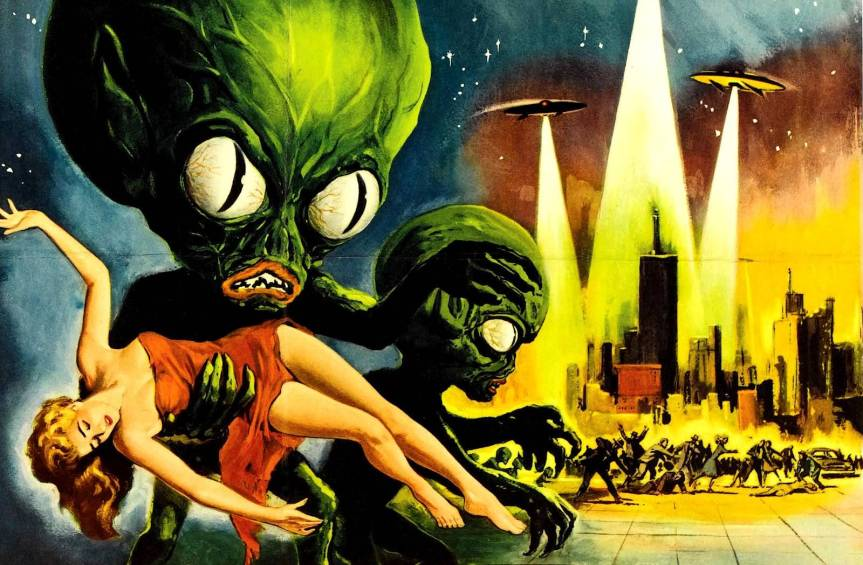 Why, On Earth, Would Aliens Invade Earth?