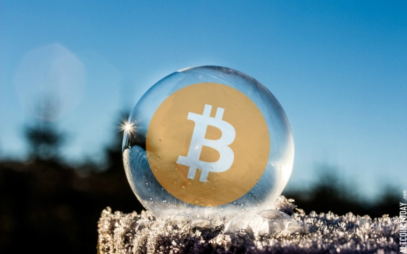 frozen-bitcoin-bubble