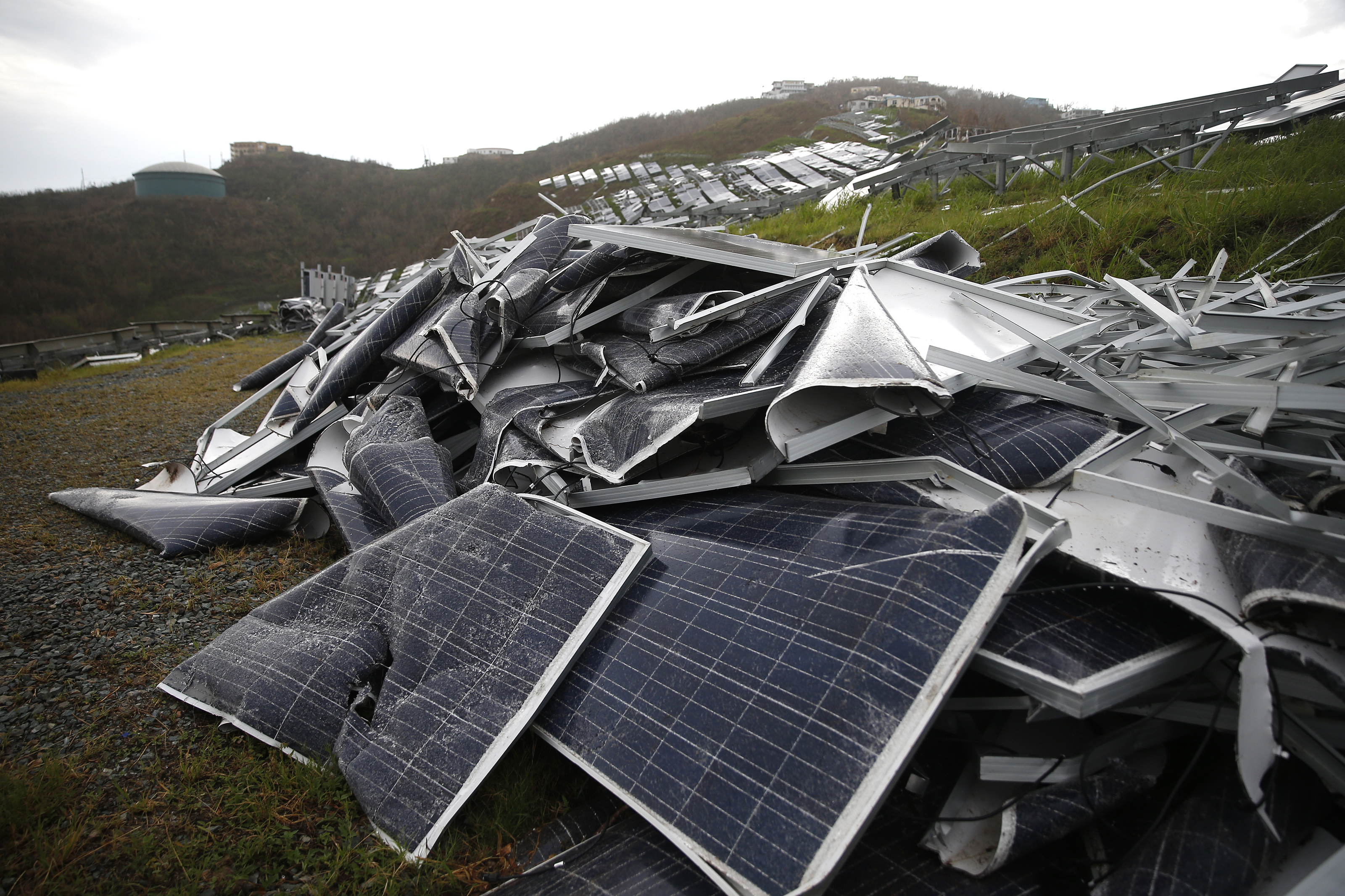 Hurricane Irma Aftermath On St. Thomas